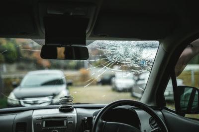 事故お起こした車