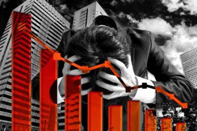 株価下落に苦悩