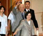 蔡英文と李登輝元総統