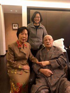 李登輝元総統と蔡英文
