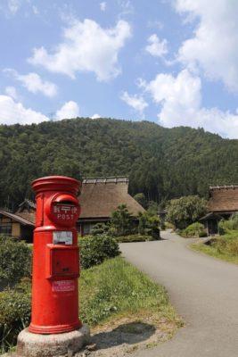 田舎の郵便ポスト