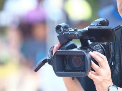 遺影撮影のカメラ
