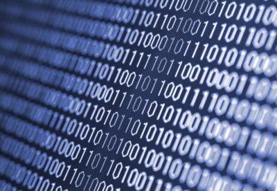 コンピュータのマシン語画面