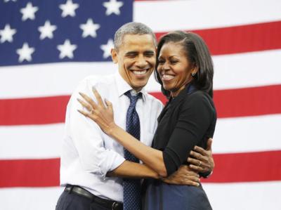 オバマ夫妻