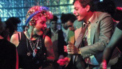マドンナとマーク・ブラム