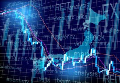 株価チャート変動