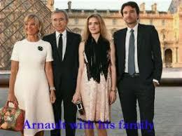 バーナードアルノーと家族