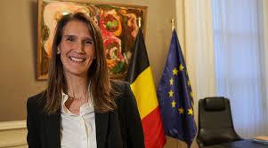 ベルギーの首相ソフィー・ウィルメス