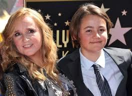 メリッサと息子ベケット