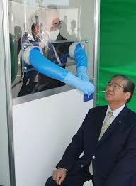 PCR検査ウオークスルー方式