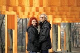 クリスト氏と妻のジャンヌ・クロード