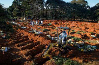 ブラジルの墓地