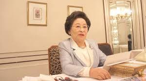 俳人の伊藤敬子さん