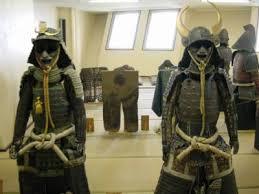 民族博物館。鎧兜や馬具