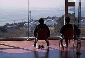 世界平和大観音展望台内部