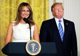 トランプ大統領夫妻