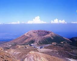 吾妻山(吾妻連峰)の大穴火口付近