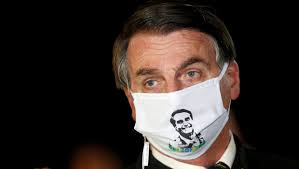 マスク姿の大統領