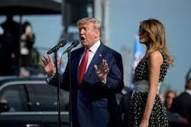 ドナルドトランプ大統領夫妻