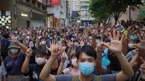 7月1日香港デモ