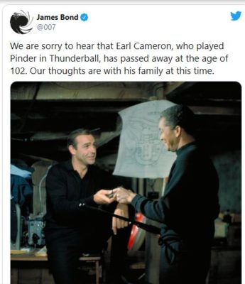 James Bond twitter