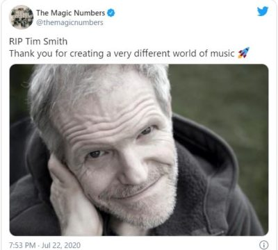The Magic Numbers twitter
