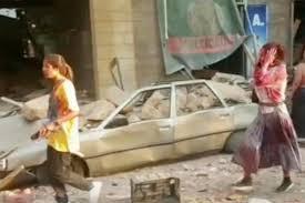 レバノン首都で大爆発