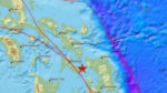 フィリピンでM6.6の地震場所