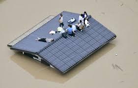 韓国の大雨
