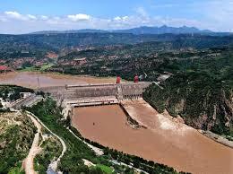 黄河流域の洪水