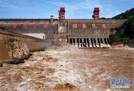 黄河三門峡ダム