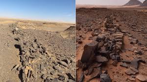 サウジアラビアで発見された古代の記念碑