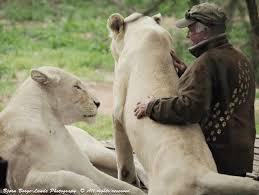 白ライオンとウエスト・マシューソンさん