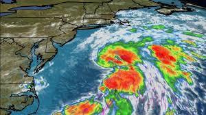 大西洋で5つの熱帯低気圧-ハリケーン