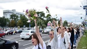 ベラルーシ抗議デモ