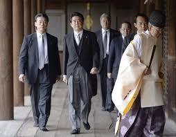 安倍晋三前首相が靖国神社を参拝