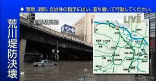 荒川決壊「赤羽駅」水没シミュレーション
