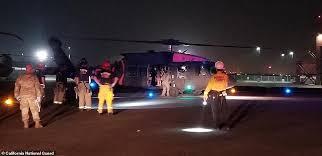 カリフォルニア州孤立した200人救助