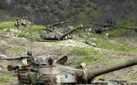 ナゴルノカラバフでの戦闘