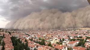 巨大な砂嵐