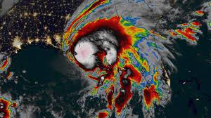 ハリケーンサリー気圧図