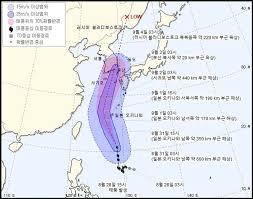 台風9号進路