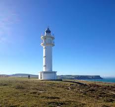 純白のアホ岬の灯台