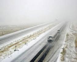 米ロッキー山脈周辺の積雪
