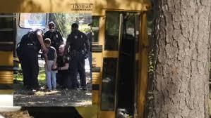 11歳の少年がスクールバスを盗み逃走し逮捕