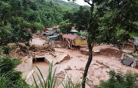 ベトナムの洪水・地すべり