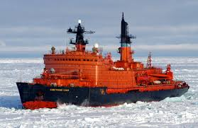 ロシア最大の原子力砕氷船