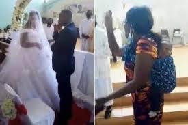 結婚式に新郎の本妻が子連れで乱入