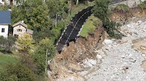 仏伊国境地帯は激しい暴風雨や集中豪雨