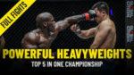 ONE Championshipで5つの最も強力なヘビーウェイト。